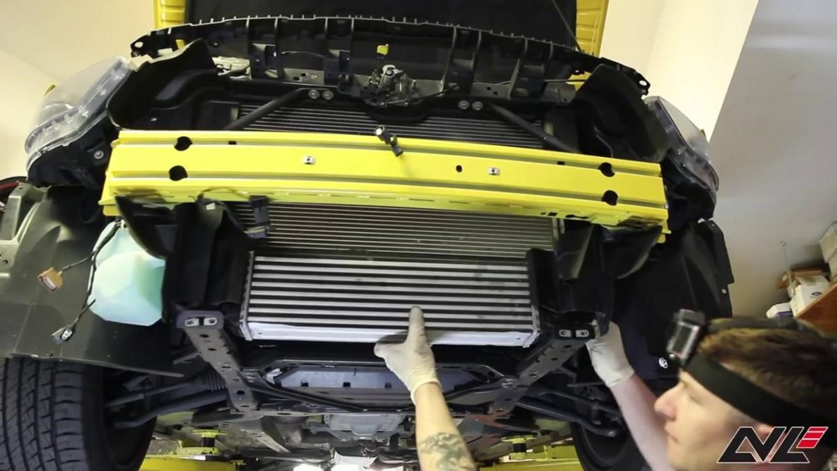 The Guide of 2015+ Ford Mustang Ecoboost Intercooler Installation