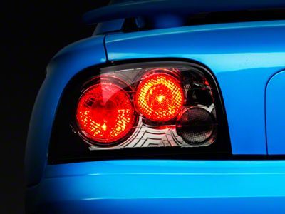 Mustang Smoked Altezza Tail Lights