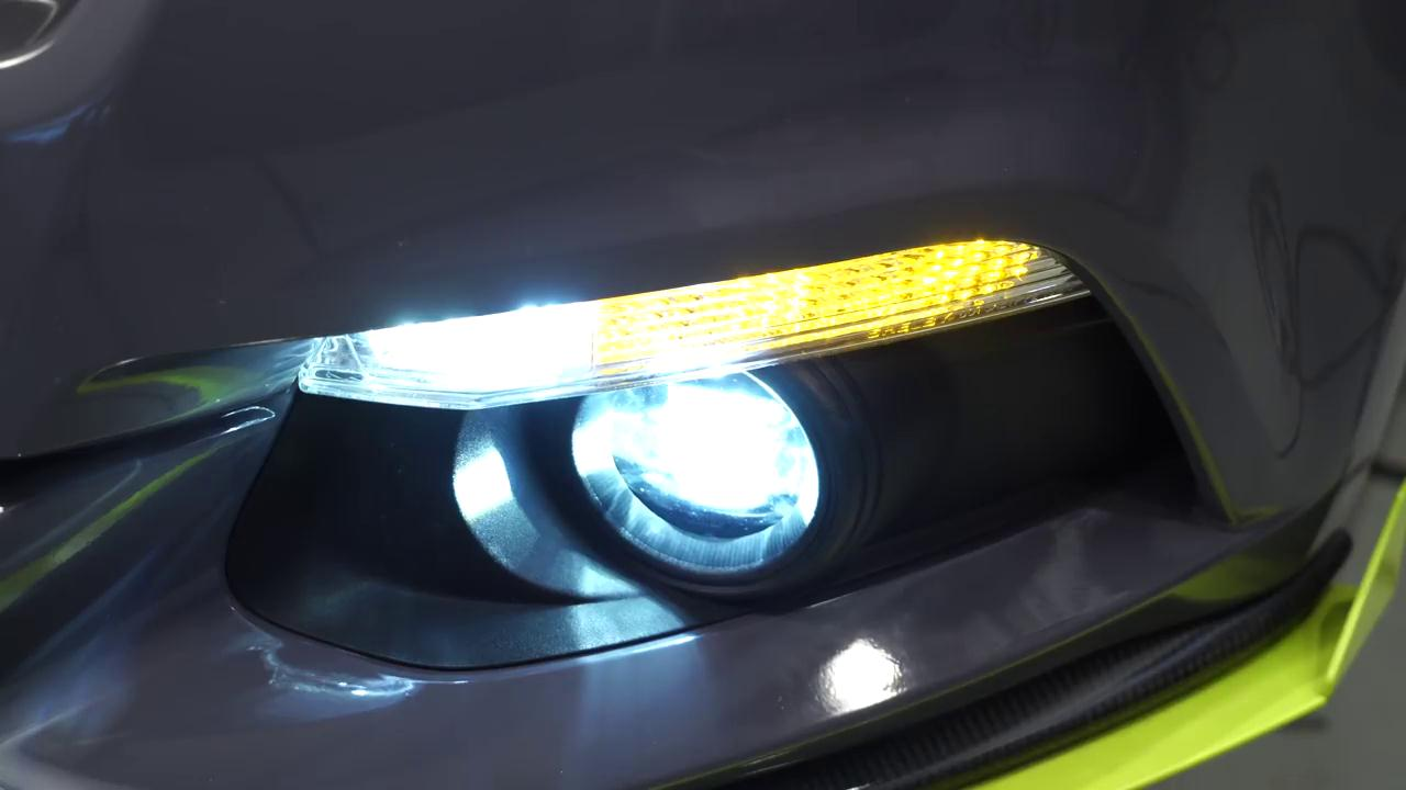 The 6th Gen Ford Mustang Led Fog Light Installation