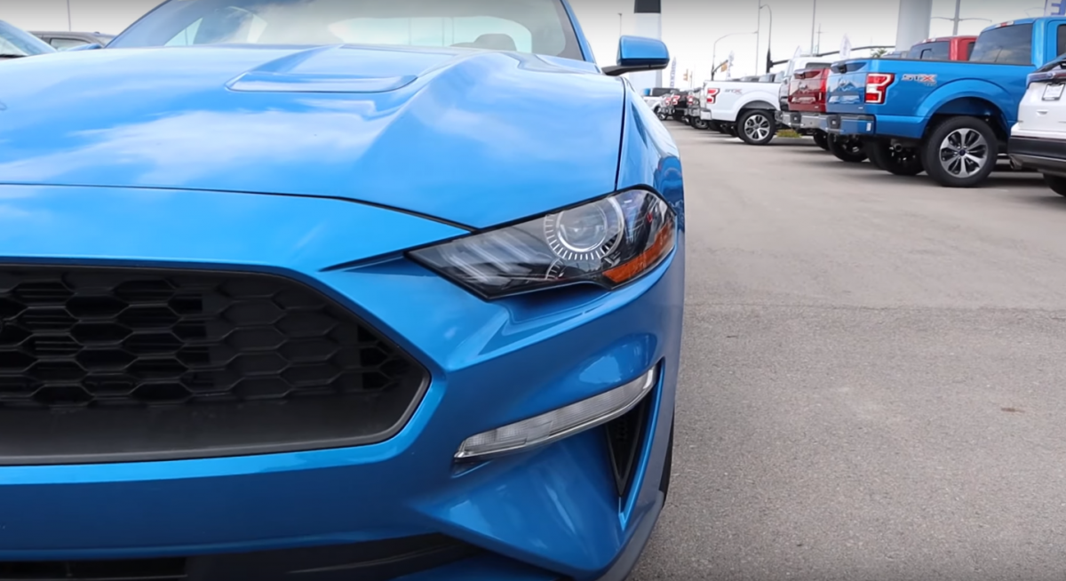 The 2019 Mustang EcoBoost