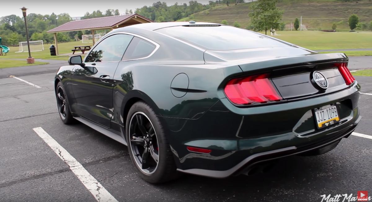 The 2019 Ford Mustang Bullitt